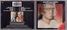 STEVE HACKETT - DEFECTOR CD 1989 VIRGIN CDSCD 4018 UK