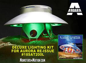 Kit Lampe Pour Invaders Volant Soucoupe U. F. O.1 / 72 Echelle Aurora Ré-édition