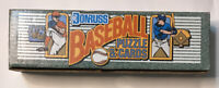 1990 Donruss Baseball Puzzle and Cards, Factory Sealed Complete Set