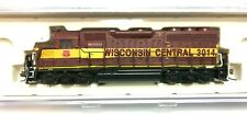 N Scale Atlas  GP40 Wisconsin Central 3014