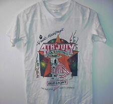 New listing Vintage Spuds McKenzie Mackenzie San Antonio 4Th Of July Small T Shirt #11