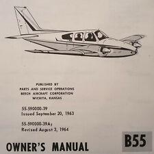 Beechcraft B55 Baron Owner's Manual