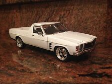 1/18 Modified HJ Sandman Ute In White With RDM Wheels
