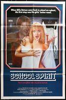 SCHOOL SPIRITS Elizabeth Foxx Horror ORIG 1985 1-SHEET MOVIE POSTER 27 x 41 1A