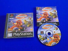 ps1 MUPPET RACEMANIA Jim Henson Playstation Game Boxed COMPLETE PAL ps2 ps3