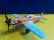 Vntg Collectible Tootsie Toy PF 40 Flying Tiger Fighter Plane Plastic Military