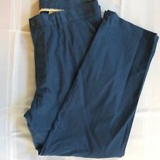 *NWT* $110 LACOSTE MENS CLASSIC FIT CHINO Blue PANTS SIZE Size US 36