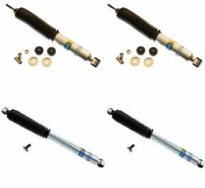 Bilstein For Ford Bronco / F-150 / F-250 / F-350 5100 Monotube Front+Rear Shocks