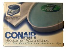 CONAIR REPLACEMENT WAX AND LINERS PWR5 PARAFFIN/MANICURE SPA MODEL PWR5 NEW OB