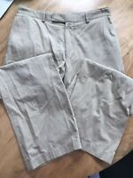 Mens Hugo Boss Pants Cream Trousers Size 52