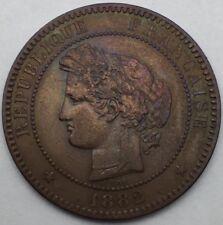 Ceres 10 centimes 1882 A bronze #731