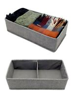 GREY SECTION DRAWER DIVIDER TIDY CHEST DRAW ORGANISER STORAGE ACCESSORY