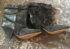 Isabel Marant Boots Fringed Size 6  **Sold Out Everywhere