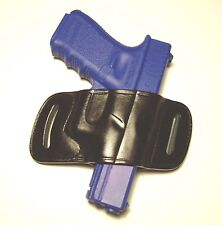Leather Holster for GLOCK 17 / 19 / 22 / 23 / 26 / 27 / 32 / 34 / 36 ( 6519 BK)