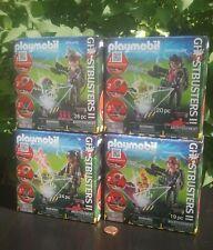 4x Playmobil GHOSTBUSTERS II🌟 Complete set (lot bundle sammlung)VENKMAN STANTZ