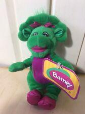 "Vintage Barney & Friends-Baby Bop Plush~Stuffed Animal~Dinosaur~Lyons~7 1/2""~NEW"