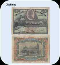 BILLETE   DE  100  PESETAS  MADRID  AÑO 1907   ( MB7055 )