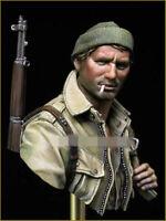 Resin Figure Bust Model Garage Kit 1/10 WW II US paratrooper Bust 232 Model Kit