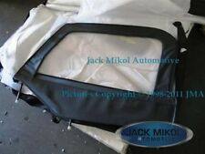 Black 97-06 Jeep Wrangler Complete Skins Upper Doors Front Windows Metal Frames