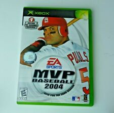 MVP Baseball 04 Xbox Great Condition Tested