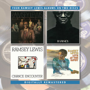 Ramsey Lewis - Legacy / Ramsey / Chance Encounter / Live At The Savoy [New CD] U