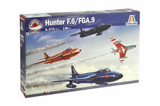ITALERI 1:48 KIT AEREO HUNTER F.6/FGA.9  AEROBATIC TEAMS  ART 2772