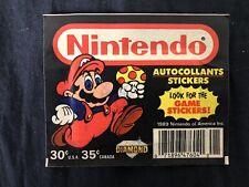 Bustina Figurine Sigillata Nintendo Diamond 1989 Rarissima No Panini Super Mario
