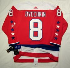 ALEXANDER OVECHKIN size 52 Large Washington Capitals Alternate 3rd ADIDAS JERSEY