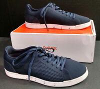 Swims Breeze Tennis Knit Casual Shoes, Men's, Navy Blue/White, Size 10
