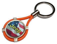 Portachiavi JEEP auto moto keyring Renegade Grand Cherokee Wrangler regalo OR