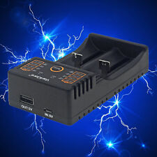 Dual Channels Battery Charger For AA AAA A SC S Li-ion Li-Fe NiHM Charger EW