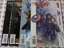 Ultimate War (2003) Marvel - #1,#2,#3,#4, Comp Series, Millar/Bachalo, Vf+-Nm-