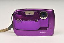 Fujifilm Finepix Z30 10MP Ultra Compact Digital Camera in Purple