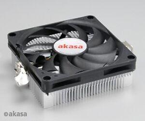 Akasa AK-CC1101EP02 Compact Aluminium AMD CPU Cooler for Mini ITX Systems