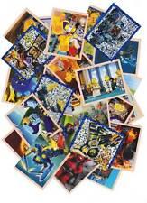 LEGO Nexo Knights 50 Sammelsticker Mix keine doppelten inklusive Silbersticker