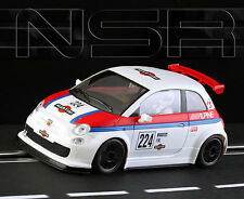 NSR Fiat Abarth 500 Martini Edition Slot Car 1/32 NSR0033