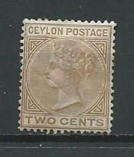 Ceylon Collection Lot of 1 MH No gum Stamp Scott 63 1872-80 - CV$18
