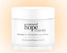 Philosophy Renewed Hope in a Jar Dry 2.0 OZ.Refreshing &Refining Moisturizer NEW