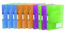 Rexel Ice A4 Ring Binder - Assorted Colour (Pack of 10) Pack of 10