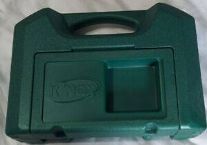 Green Knex Lot Storage Box Case with Mixed Lot 3+ lbs of K'nex Bulk Pieces