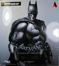 "Batman: Arkham Origins  ~ 10"" BATMAN FIGURE ~ Play Arts KAI ~ 100% Authentic"