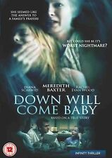 Down Will Come Baby DVD Meredith Baxter Diana Scarwid UK Release New Sealed R2