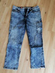 Jeans Herren ENGELBERT UND STRAUSS Gr. 56, blau, sehr selten getragen