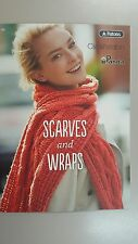 Unique Pattern Book #302 Scarves & Wraps by Patons Cleckheaton & Panda