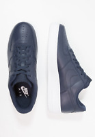 Nike Air Force 1 Low Mens Trainers Dark Navy Blue White Limited Edition Shoes
