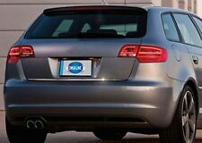 FIT FOR AUDI A3 HB TAILGATE TRIM LINE COVER S.STEEL 2012>UP