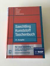 Saechtling Kunststoff Taschenbuch 31. Ausgabe Fachliteratur E-Book