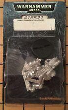 40k Rare oop Metal Space Marine Legion of the Damned LOTD w Heavy Flamer NIB