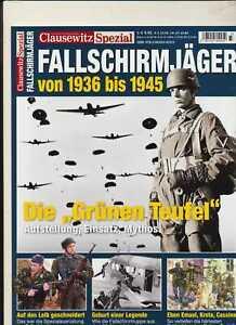 Clausewitz Spezial - Fallschirmjäger von 1936 bis 1945