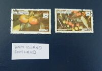 Holy island stamps Scotland